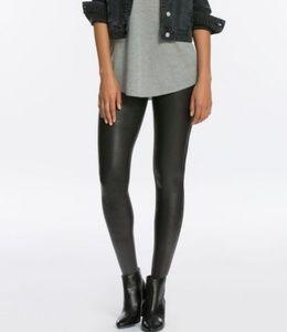 a.n.a  imitation leather pants